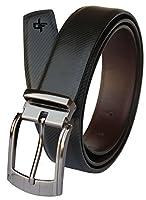 Discover Fashion Men's Leather Black Belt (BL-AV-19)