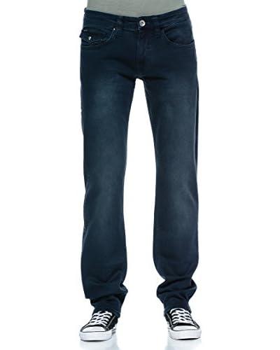 Rare Pantalón Slim Gris / Azul
