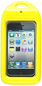 Aryca WS13Y Aryca Wave Waterproof Case for iPhone and Smaller Smartphones - 1 Pack - Retail Packaging - Yellow