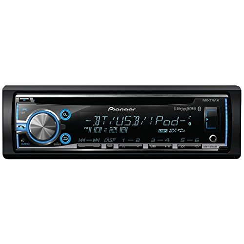Pioneer Single-DIN Bluetooth Car Stereo with MIXTRAX, Smartphone Integration and SiriusXM Compatibility, DHE-X6700BS