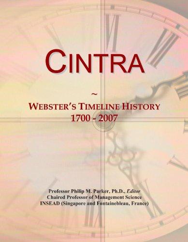 cintra-websters-timeline-history-1700-2007