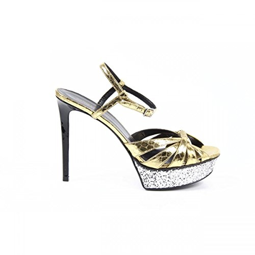 Yves Saint Laurent Yves Saint Laurent Womens Sandal 385302 LFN40 8010 ORO