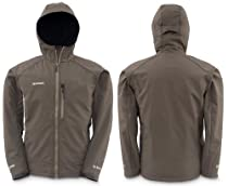 Simms Windstopper Softshell Hoody - Black Olive - Size XL