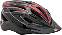 Bell Quake Bike Helmet (Red Carbon)