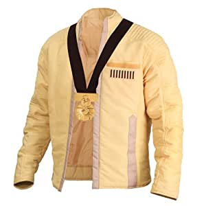 Officially Licensed Star Wars Luke Skywalker Cermonial Jacket with Medal of Yavin (L)