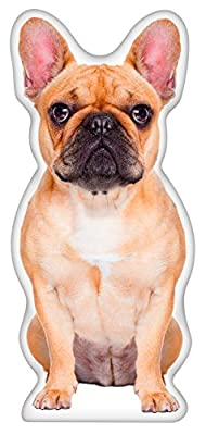 iLeesh French Bulldog_Fawn Shaped Pillow