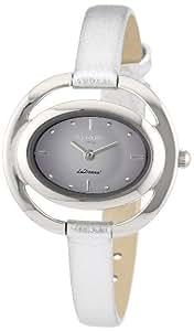 Regent Damen-Armbanduhr LaDonna! Analog Quarz Leder 12111045