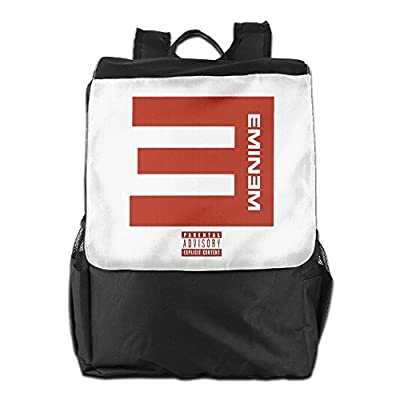 Unisex Eminem Campaign Speech Logo Travel School Backpack