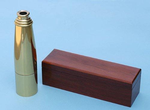 29-Inch Premium Brass Telescope With Mahogany Case