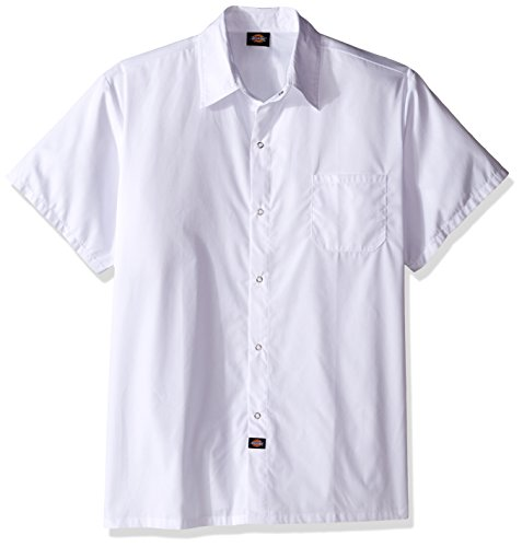 Dickies Chef Men's Big and Tall Unisex Poplin Cook Shirt, White, XX-Large (Food Service Clothing compare prices)