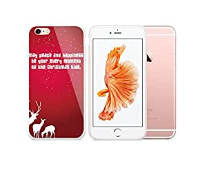 Smosse international iphone cover case for Iphone 6S, Apple iphone 6-best iphone protector -Merry Christmas ,happy new year, iphone 6s case-christmas deer-2