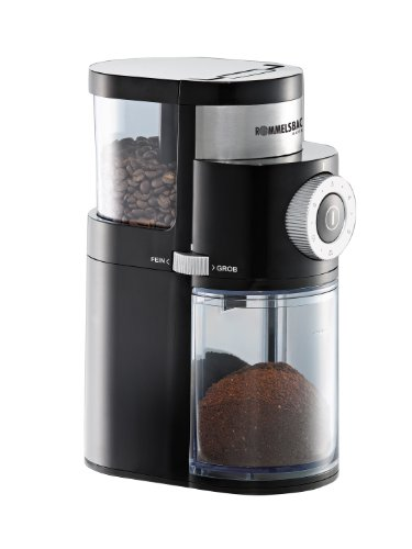 Rommelsbacher-EKM-200-mit-Scheibenmahlwerk-Kaffeemhle-110-Watt-schwarz