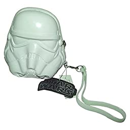 Star Wars Stormtrooper 3D Helmet Shaped Coin Bag Zip Wallet Purse