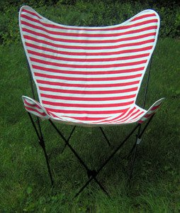 Chairs Patio Furniture Cabana Stripe Butterfly Chair Replacement Covers Re