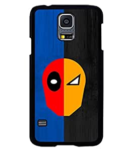 printtech Two Face Superhero Avengers Back Case Cover for Samsung Galaxy S5 Mini::Samsung Galaxy S5 Mini G800F