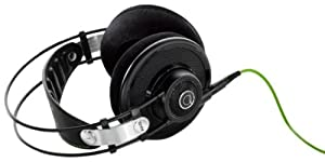 AKG Q 701 Quincy Jones Signature Reference-Class Premium Headphones - Black