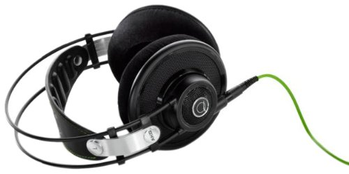 AKG Q 701 Quincy Jones Signature Reference-Class Premium Headphones, Black