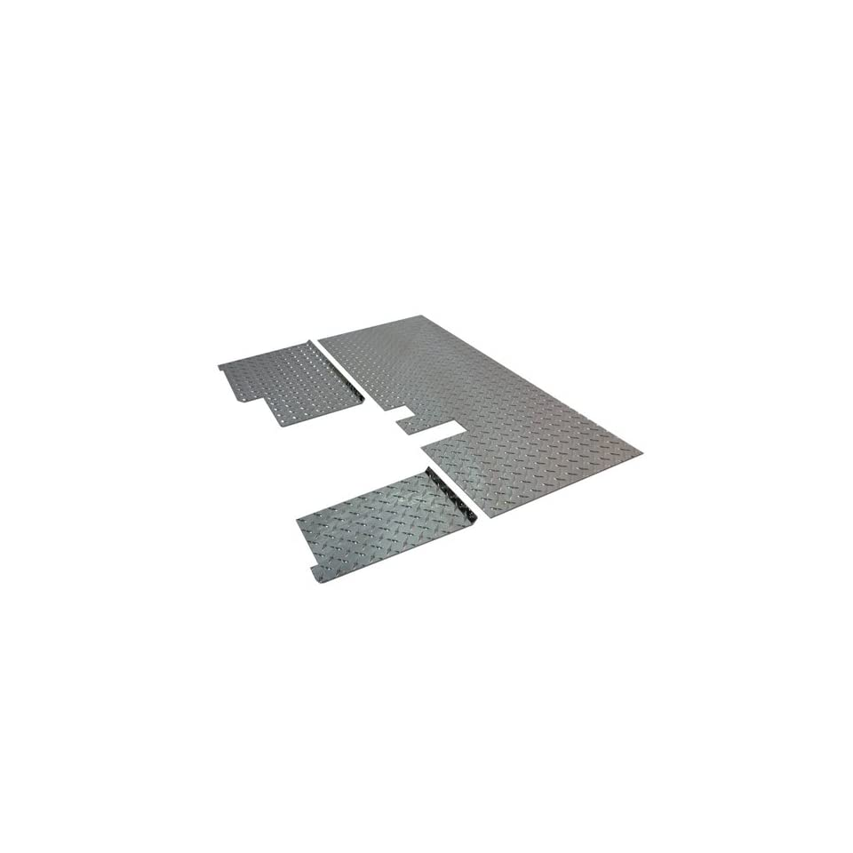 Yamaha G14,G16,G19,G22 Golf Cart Diamond Plate Floor