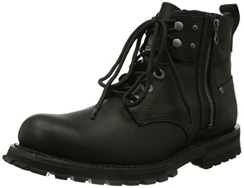 Cat Footwear HOXTON, Stivaletti Chukka Uomo, Nero (Schwarz (MENS BLACK)), 42