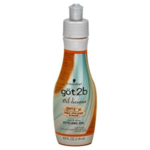 Got 2B Oil-Licious Triple Oil Styling Oil 4 oz.