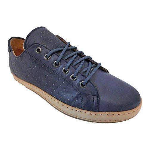 Scarpe Uomo Exton Enna Rustico Camoscio made in Italy 0045 (42, jeans)
