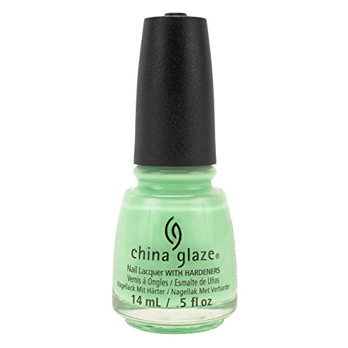 China Glaze Clay Lacquer Nail Polish HIGHLIGHT OF MY SUMMER Light Green 81328 凤凰山谷·戴领结的鹅(珍藏版)