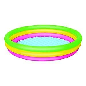Bestway 51103b piscina hinchable para ni os 3 anillos for Amazon piscinas infantiles