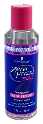 Zero Frizz Corrective Hair Serum Extra Strength 5 oz