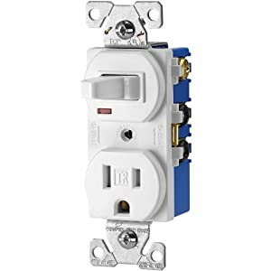 Cooper Wiring Devices on Cooper Wiring Devices Tr274w 3 Wire Receptacle Combo Single Pole