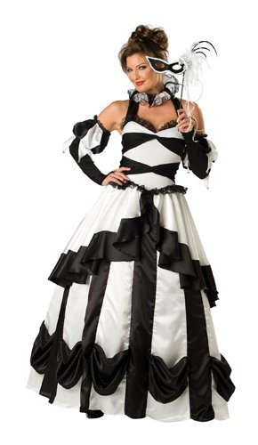 Carnival Queen Costume - X-Large - Dress Size 16-18
