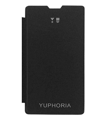 Febelo Flip Cover Case for Micromax Yuphoria