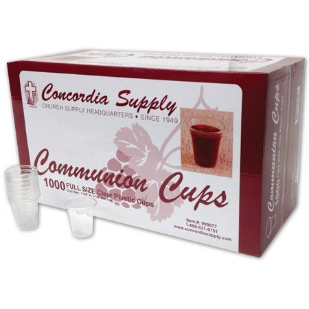 Communion Cups - Premium Disposable (Box of 1,000) 1-3/8-inch - Import It  All