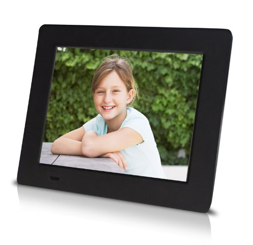 Sungale PF709 7-Inch Ultra-Slim Digital Photo Frame (Black)