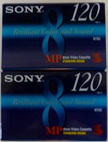 Buy Sony MP 8mm Video Cassette Standard Grade 120 min (2 Pack)