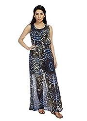 True Fashion Polyester Chiffon Women's Dress