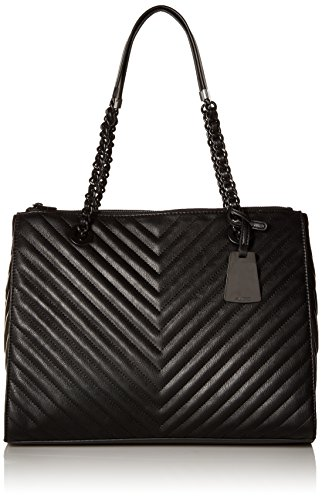 Aldo Katty Shoulder Handbag, Black Leather