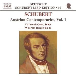 Deutsche Schubert-Lied-Edition Vol. 10 (Austrian Contemporaries Vol. 1)