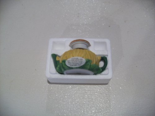Avon Season's Treasures Miniature Teapot Collection Sunflower (Avon Teapot compare prices)