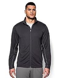 Under Armour Men\'s UA Reflex Warm-Up Jacket Large Tall Black