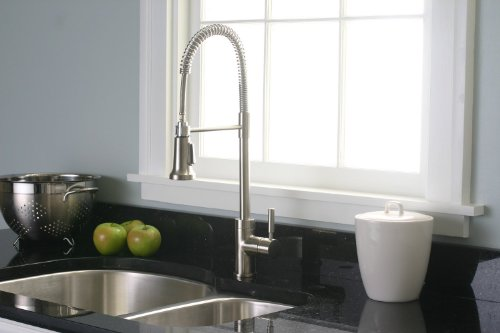 Essen Commercial Style Pull Down Kitchen Faucet Brushed Nickel