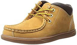 Timberland Groveton Leather Chukka Boot (Toddler/Little Kid/Big Kid), Wheat Nubuck, 10 M US Toddler