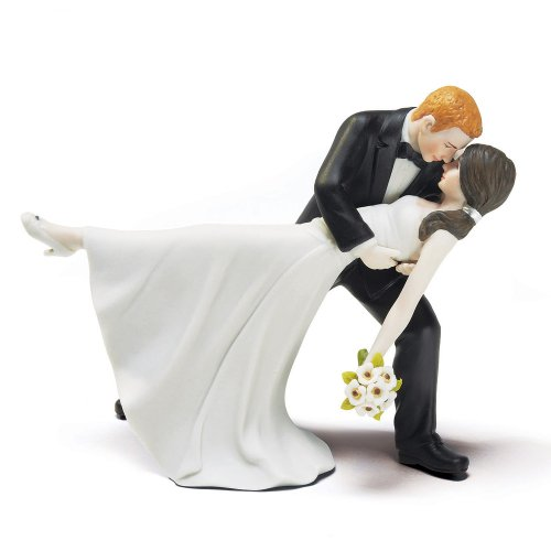 Weddingstar A Romantic Dip Dancing Bride and Groom Couple Figurine for Cakes