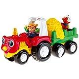 Mattel M1280-0 - Fisher-Price Little People Traktor