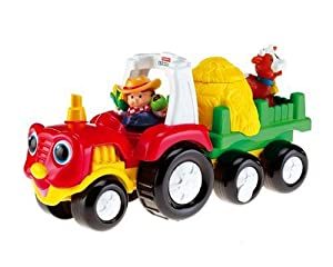 Mattel M1280-0 - Fisher-Price Little People Traktor