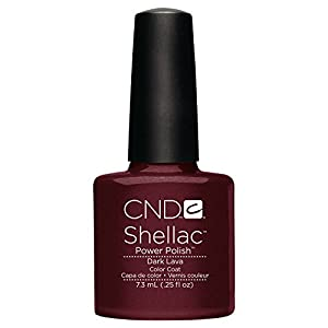 CND Shellac Nail Polish, Dark Lava, 0.25 fl. oz.