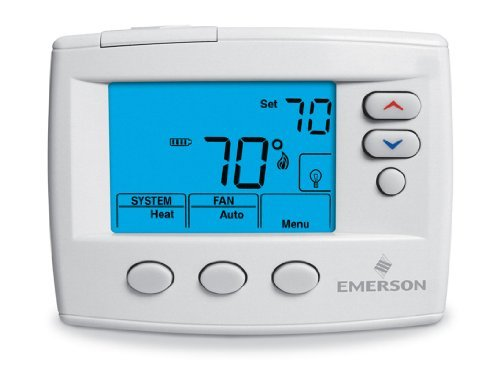 White-Rodgers 1F86-0471 Single Stage, Non-programmable Thermostat, 24 Volt or Millivolt System, 3-wire Zone by Emerson Thermostats (4 Stage Thermostat compare prices)