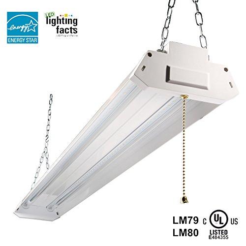 Energy Star Led Garage Lights: Eagledlight Utility LED Shop Light 4ft 42 Watt 4500 Lumen