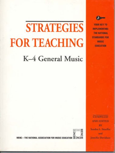 Strategies for Teaching K-4 General Music (Strategies for...