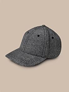 Herringbone Structured Cap