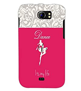 PrintDhaba Quote D-2639 Back Case Cover for MICROMAX A110 CANVAS 2 (Multi-Coloured)